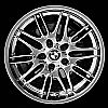 2000 Bmw 5 Series  19x9.5 Hyper Silver Factory Replacement Wheels