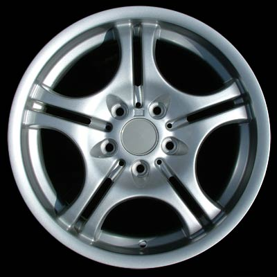 Bmw 3 Series 2001-2006 17x7.5 Silver Factory Replacement Wheels
