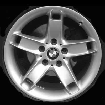 Bmw 5 Series 2001-2003 17x8 Silver Factory Replacement Wheels