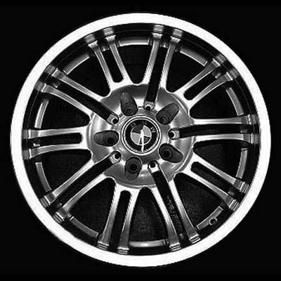 Bmw 3 Series 2001-2004 19x8 Brt Polished Factory Replacement Wheels