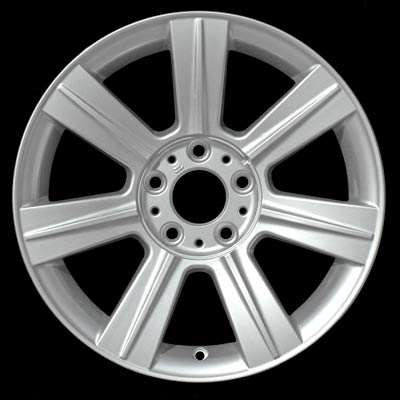 Bmw 3 Series 2001-2006 17x8 Silver Factory Replacement Wheels