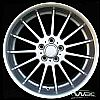 2002 Bmw 7 Series  20x10 Silver Factory Replacement Wheels