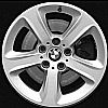 2002 Bmw 3 Series  17x8 Silver Factory Replacement Wheels