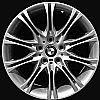 2001 Bmw 3 Series  18x8 Silver Factory Replacement Wheels