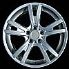 2009 Bmw X3  19x9 Silver Factory Replacement Wheels