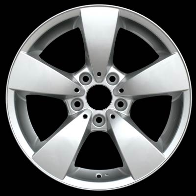 Bmw 5 Series 2004-2007 17x7.5 Silver Factory Replacement Wheels