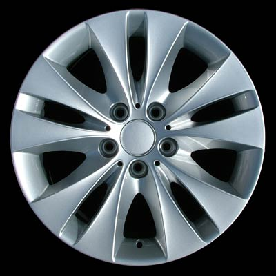 Bmw 5 Series 2004-2006 17x7.5 Silver Factory Replacement Wheels