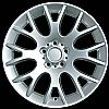 2006 Bmw X3  19x8.5 Silver Factory Replacement Wheels