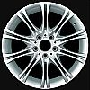 2007 Bmw 5 Series  18x8 Silver Factory Replacement Wheels