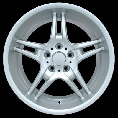 Bmw 5 Series 2004-2005 19x8 Silver Factory Replacement Wheels