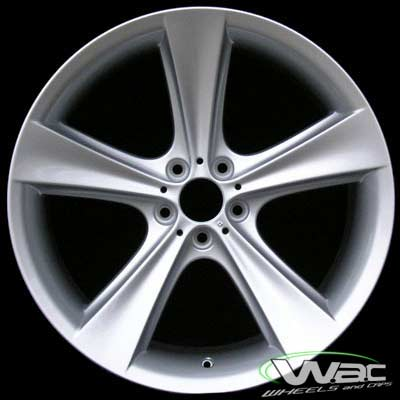 Bmw 7 Series 2002-2005 21x10 Silver Factory Replacement Wheels