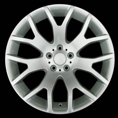Bmw 7 Series 2004-2006 20x9.5 Silver Factory Replacement Wheels
