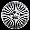 2002 Bmw 7 Series  19x9 Silver Factory Replacement Wheels