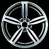 2009 Bmw 5 Series  19x9.5 Silver Factory Replacement Wheels