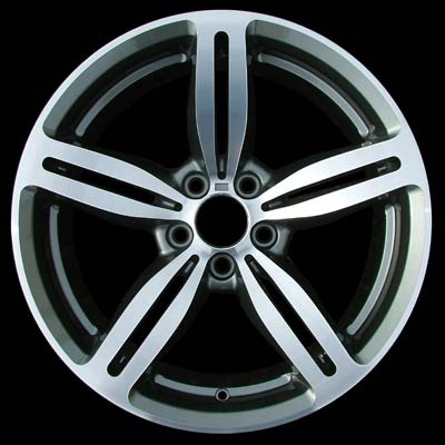 Bmw 5 Series 2006-2009 19x9.5 Silver Factory Replacement Wheels