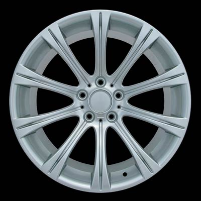 Bmw 5 Series 2006-2009 19x9.5 Hyper Silver Factory Replacement Wheels