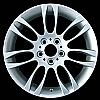 2007 Bmw 3 Series  18x8 Silver Factory Replacement Wheels