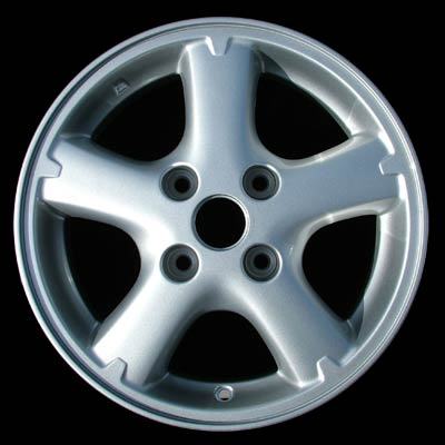 Nissan Sentra 2000-2006 15x6 Silver Factory Replacement Wheels