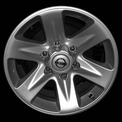 Nissan Pathfinder 2002-2002 17x8 Silver Factory Replacement Wheel
