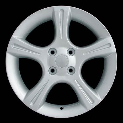 Nissan Sentra 2002-2003 17x7 Bright Silver Factory Replacement Wheels