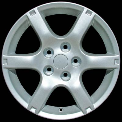 Nissan Altima 2005-2006 17x7 Bright Silver Factory Replacement Wheels