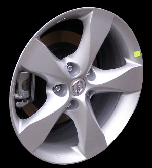 Nissan Altima 2007-2009 17x7.5 Silver Factory Replacement Wheels