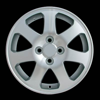 Honda Civic 1999-2000 15x6 Silver Factory Replacement Wheels