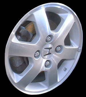 Honda Accord 1998-2002 15x6 Silver Factory Replacement Wheels