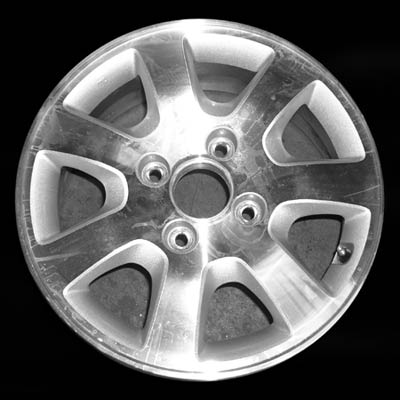 Honda Accord 2001-2002 15x6 Silver Factory Replacement Wheels