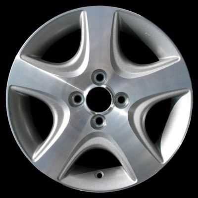 Honda Civic 2004-2005 15x6 Silver Factory Replacement Wheels