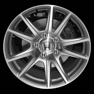 Honda S2000 2004-2008 17x8.5 Silver Factory Replacement Wheels