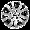 2005 Honda Crv  16x6.5 Silver Factory Replacement Wheel