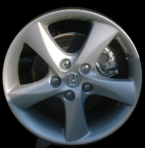 Mazda Mazda 6 2003-2004 17x7 Silver Factory Replacement Wheel