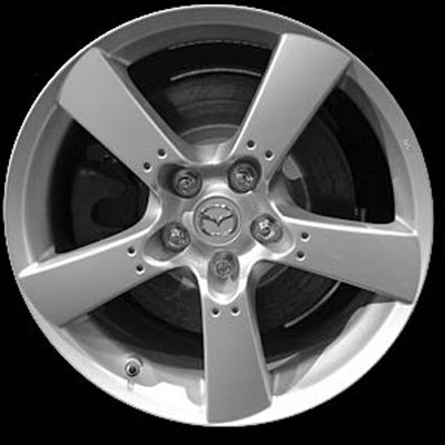 Mazda Rx-8 2004-2008 18x8 Silver Factory Replacement Wheel