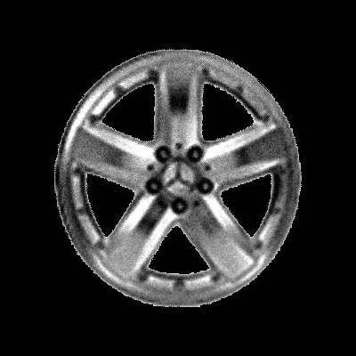 Mercedes Benz Slk Class 2005-2005 18x7.5 Silver Factory Replacement Wheel