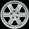 2002 Mitsubishi Eclipse  17x6.5 Silver Factory Replacement Wheels