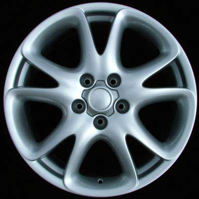 Porsche Cayenne 2003-2009 19x9 Bright Silver Factory Replacement Wheels