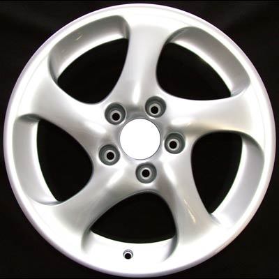 Porsche 911 2003-2004 18x10 Silver Factory Replacement Wheels