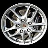 Porsche Boxster 2003-2004 17x8.5 Silver Factory Replacement Wheels