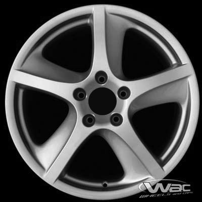 Porsche Boxster 2002-2005 18x8 Silver Factory Replacement Wheels
