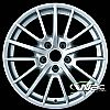 2008 Porsche 911  19x8 Silver Factory Replacement Wheels
