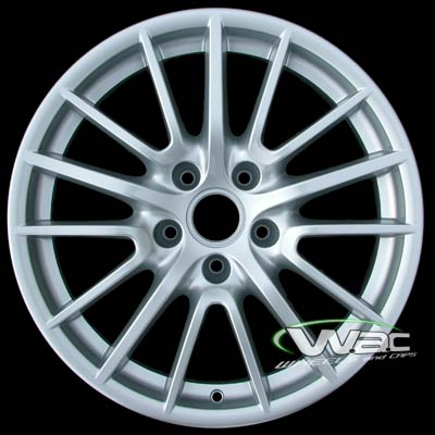 Porsche 911 2005-2009 19x8 Silver Factory Replacement Wheels