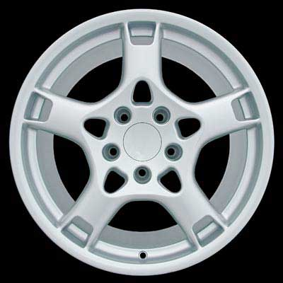 Porsche Boxster 2005-2008 19x9.5 Silver Factory Replacement Wheels