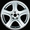 2002 Subaru Impreza  16x6.5 Silver Factory Replacement Wheels