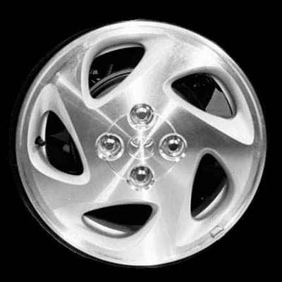 Toyota Corolla 1998-2002 14x5.5 Silver Factory Replacement Wheels