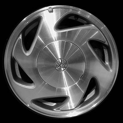 Toyota Sienna 1998-2003 15x6.5 Machined Factory Replacement Wheels