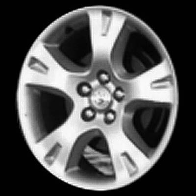 Toyota Matrix 2003-2007 16x6.5 Silver Factory Replacement Wheels
