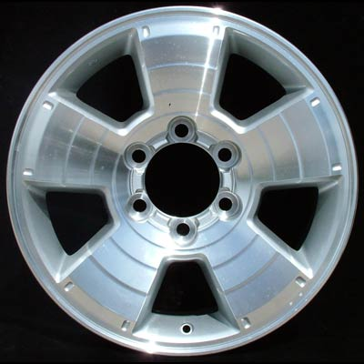 Toyota 4Runner 2003-2007 17x7.5 Silver Factory Replacement Wheels