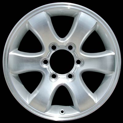 Toyota 4Runner 2003-2009 17x7.5 Silver Factory Replacement Wheels