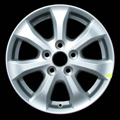 Toyota Camry 2007-2008 16x6.5 Silver Factory Replacement Wheels